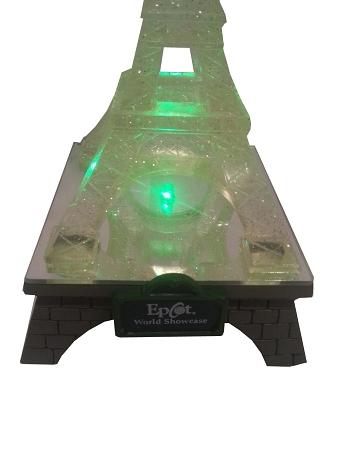 Disney Figurine Tinkerbell Eiffel Tower Light Up