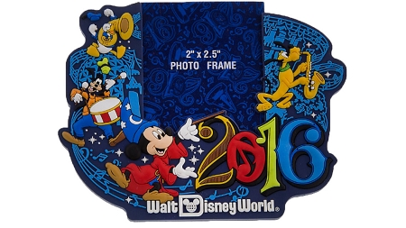 disney photo frame magnet 2016 mickey mouse walt disney world - Disney Photo Frame