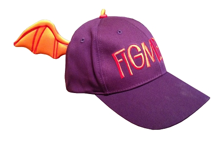 disney character baseball hats caps hat cap figment wings vintage