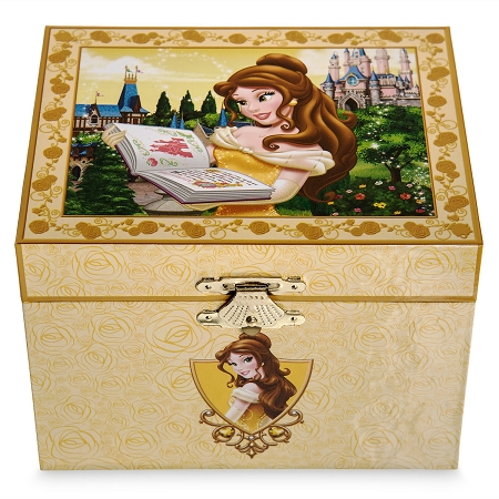 Musical Jewelry Box Belle Beauty and the Beast Large