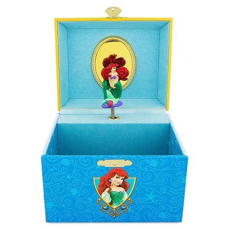 Disney Musical Jewelry Box Ariel The Little Mermaid Large