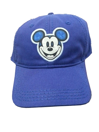 mickey mouse baseball cap vintage hat country flags blue white