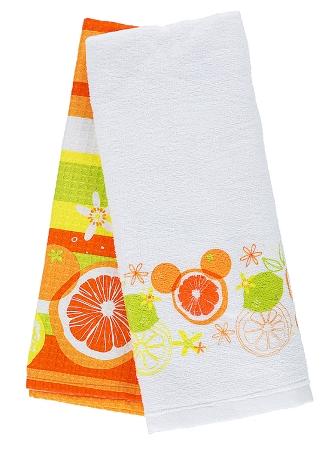 Kitchen Towel Set - Citrus Mickey Mouse Icon