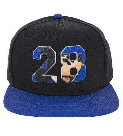 mickey baseball cap with ears hat mouse black blue toddler
