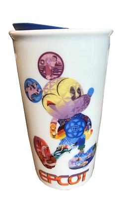 Disney Travel Mug Starbucks Mickey Mouse Epcot
