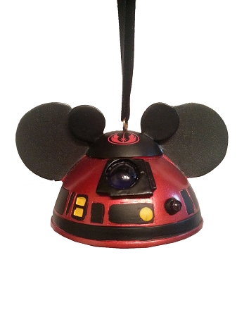 Disney Ear Hat Ornament Star Wars R2 Mk Light Up