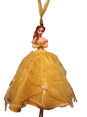 Christmas Ornament - Princess Belle - Tulle Gown
