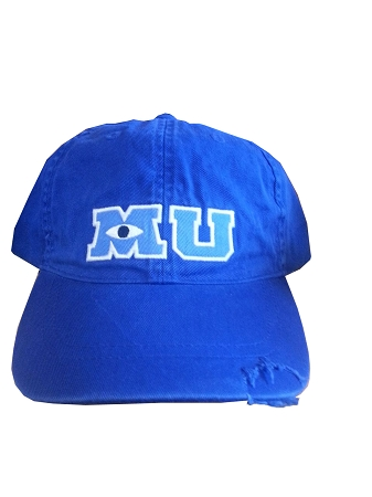 hat baseball cap monsters university mu blue disney sale vintage caps with ears