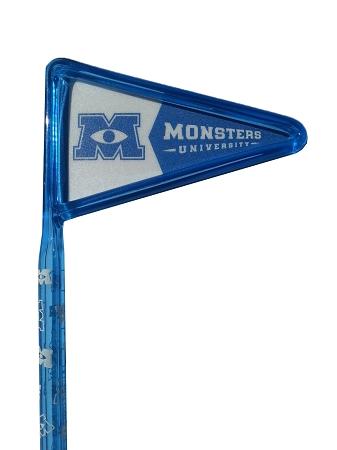 Disney Inkbend Pen - Monsters University - Flag