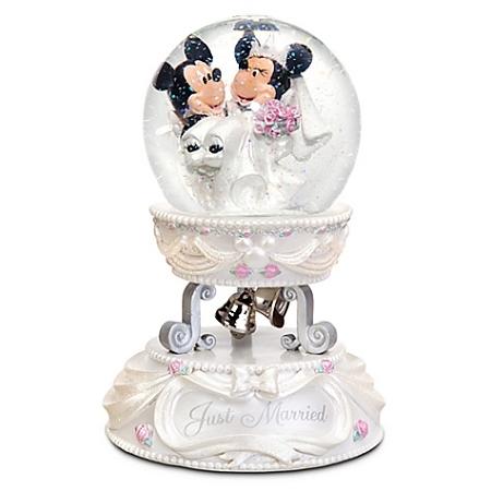 Snow Globe - Minnie and Mickey Mouse - Wedding