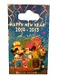 Disney New Year Pin - 2014-2015 - Mickey Minnie and Pluto