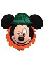Disney Antenna Topper - St. Patrick's Day - Leprechaun Mickey Mouse