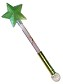 Disney Light Up Wand - Tinker Bell Star Wand with Crystal Ball - Green