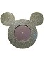 Disney Photo Frame - Mickey Mouse Icon - Silver Bling