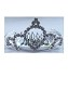 Disney Haircomb - Princess Tiara Barrette - Clear