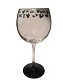 Disney Goblet Wine Glass - Etched Mickey Mouse Icons - Black