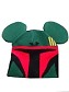 Disney Hat - Beanie Hat - Boba Fett with Mickey Ears - Youth