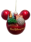 Disney Christmas Ornament - Four Parks, One World - Hollywood Tower