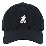 Disney Hat - Nike Baseball Cap - Mickey Mouse Standing - Black