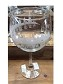Disney Goblet Wine Glass - Epcot World Showcase - Etched