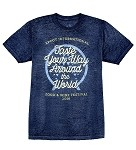 Disney Shirt for Men - 2016 Epcot Food and Wine - Blue