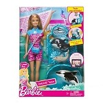 Sea World  Barbie Set - I Can Be A SeaWorld Trainer Doll