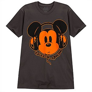 Disney Shirt for ADULTS - Mickey Mouse Headphones