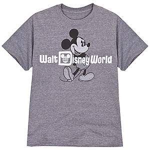 Disney Shirt for MEN - Classic Walt Disney World Tee