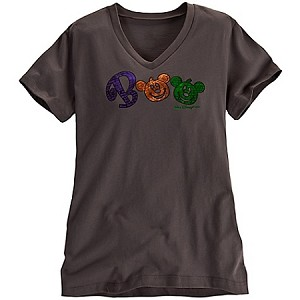 Disney Shirt for Women - Boo Halloween - Mickey Mouse Tee