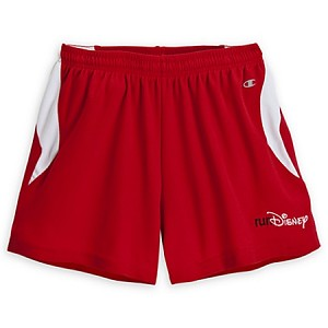Disney Shorts for Women - RunDisney Logo Shorts - Red