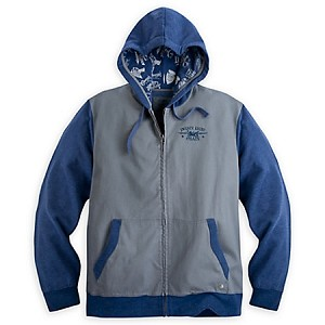 Disney Hooded Jacket - Twenty Eight & Main - Gray and Blue