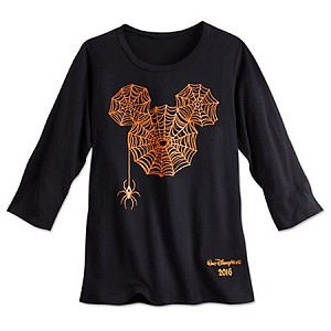 Disney Shirt for Women - 2016 Halloween - Mickey Spiderweb