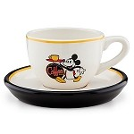 Disney Coffee Cup - Espresso Cup and Saucer Set - Mickey Mouse