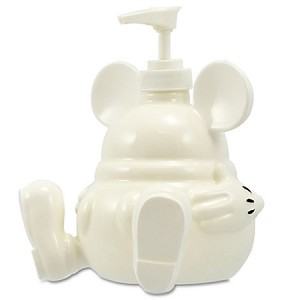 Disney bathroom accessories mickey mouse soap pump - Mickey mouse bathroom accessory set ...