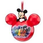 Disney Christmas Ornament  - 2012 Walt Disney World Mickey Mouse Icon