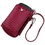 Disney Smartphone Case and Purse - Crocodile Mickey Mouse  -- Burgandy