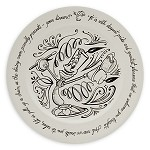 Disney Dinner Plate - Be Our Guest - Lumiere - 11
