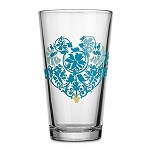 Disney Tumbler Glass - Mickey Mouse Icon - Indigo