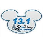 Disney Magnet - In Training RunDisney 13.1 Mickey Mouse