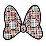 Disney Auto Decal - Minnie Mouse Bow - Transparent