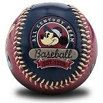Disney Collectible Baseball - Mickey's Steamboats - Mickey Mouse