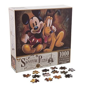 Disney Signature Puzzle Mickey Mouse And Pluto