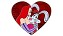 Disney Valentine�s Day Pin - Jessica and Roger Rabbit