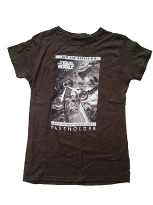 Disney Shirt for Adults - Star Wars Weekends 2014 - Passholder