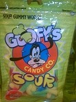 Disney Goofy Candy Co - Sour Gummy Worms
