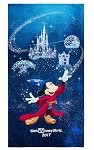 Disney Beach Towel - 2017 Sorcerer Mickey Mouse