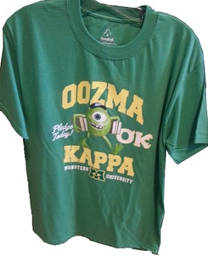 Disney Shirt for Adults - Monsters University - Oozma Kappa