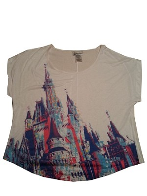 Disney Shirt for Women - Cinderella Castle Fashion Tee
