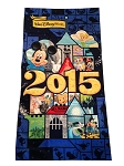 Disney Beach Towel - 2015 - Mickey Mouse and Friends