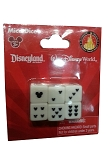Disney Playing Dice - Mice Dice - Mickey Mouse Icons